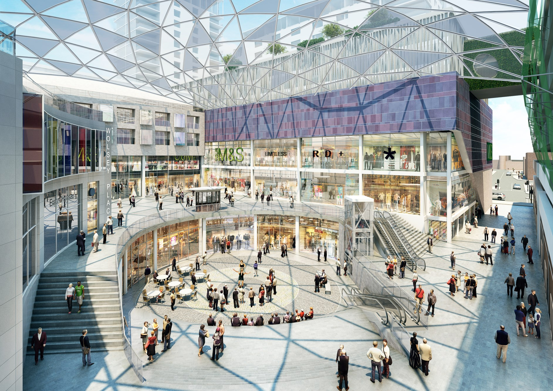 Retail Value Of Car >> MARKS AND SPENCER WOKING | Osbornes Quantity Surveyors ...